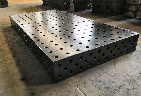 Nitrided treatment welding table